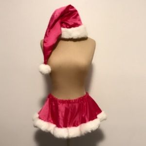 Other - Sexy Mr. Claus hot pink Halloween outfit sz XS